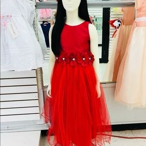 Cecile Girl Dress  Red size 8/9